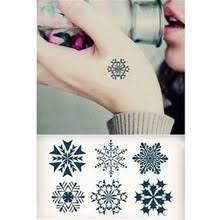 snowflake tattoo designs promotion shop for promotional snowflake