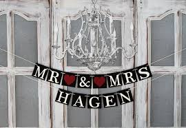table banners and signs personalized wedding name signs burgundy bridal shower banners