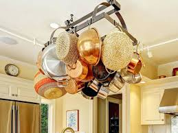 kitchen island pot rack lighting hanging pot rack with lights rack above kitchen island island