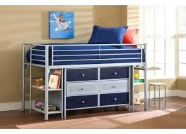 Canwood Bunk Bed Junior Loft Bed With Desk Tandemdesigns Co