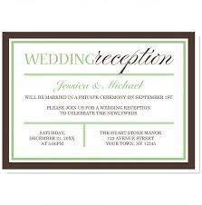 wedding invite sles wedding invite sles 100 images baptism reception invitation