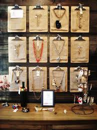 creative ways to organize jewelry clipboards jewerly and display