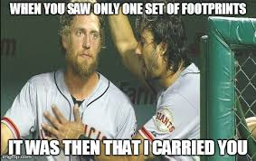 Hunter Pence Memes - hunter pence and michael morse shared a special moment these