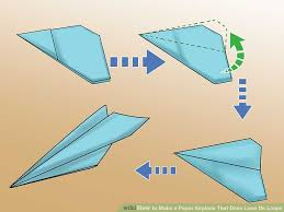 how to make a paper airplane that does loop de loops 7 steps
