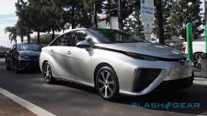 hydrogen fuel cell car toyota 2016 toyota mirai first drive u2013 fuel cells dawning slashgear