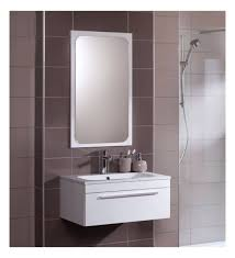 bathrooms design pivoting wall mirror in chrome bathroom oval