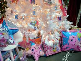 doodlecraft my little pony christmas tree