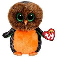 midnight orange owl beanie boo http shop crackerbarrel
