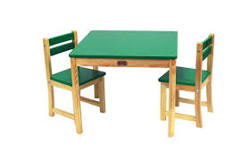 Childrens Dining Table Childrens Square Unisex Boss Table 2 Chairs Dining Furniture Set