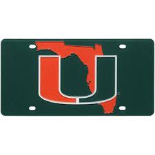 michigan state alumni license plate frame miami hurricanes license plates of miami license plate