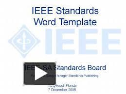 ppt u2013 ieee standards word template powerpoint presentation free