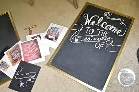 diy wedding signs diy wedding chalkboard signs