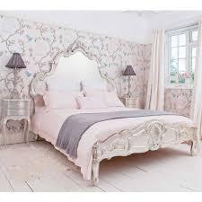 sylvia silver bed luxury bed