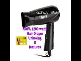 Philips Hair Dryer 1200 Watt unboxing hair dryer by abhay tech