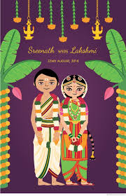 South Indian Wedding Invitation Cards Designs Creative Indian Wedding Cards Creative Indian Wedding Cards