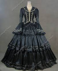 Ball Gown Halloween Costumes Medieval Renaissance Steampunk Game Thrones Period Dress Witch