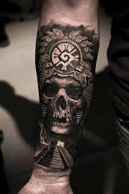 Skull Arm - best pyramid and skull on lower arm goluputtar com