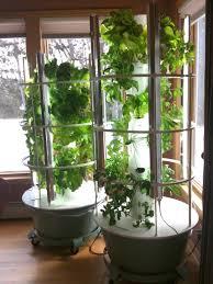 winter vegetable growing backyard tower garden
