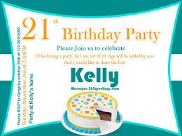 21st birthday invitation wording ideas funny home party theme ideas