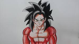 imagenes de goku para dibujar faciles con color como dibujar a goku ssj4 paso a paso 2 el dibujante youtube