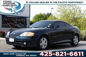 2003 hyundai tiburon horsepower hyundai tiburon coupe in washington for sale used cars on