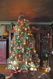 fresh old fashioned christmas tree decorating ideas room design