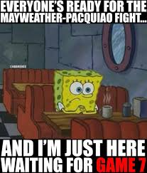 Clippers Meme - mayweather pacquiao vs game 7 spurs clippers http