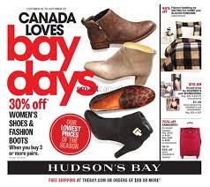 hudson bay s boots hudson s bay flyer october 16 to 22