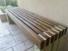 Outdoor Wooden Bench Diy by Best 25 Patio Bench Ideas On Pinterest Fire Pit Gazebo Pallet