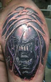 biomechanical tattoo for knee demon knee tattoo design photos pictures and sketches tattoo