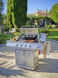 cuisiner avec barbecue a gaz chaise de jardin verte unique barbecue gaz en inox 5 bruleurs avec