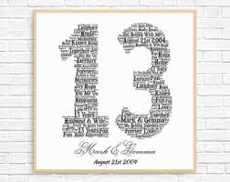 13th anniversary gifts for him new 13th wedding anniversary gift ideas for him wedding gifts