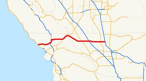 Map Of Cambria Ca California State Route 46 Wikipedia