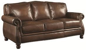 Coaster Leather Sofa Coaster Furniture 503981 Sofa