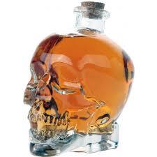 dragon home decor crystal skull decanter bottle clear glass skull shaped bottle