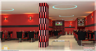 red toned restaurant interior designs kerala home design and restaurant interior ideas