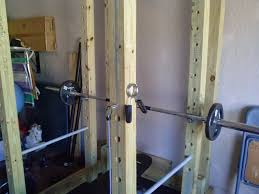 Diy Wood Squat Rack Plans the power rack one year later homemade wooden power rack power cage