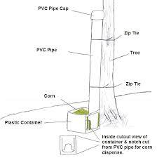 myog easy diy deer corn feeder plans for