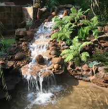 Rock Garden With Water Feature Here S A Water Feature For The Garden Hillside The