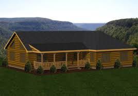Log Home Floor Plans Single Story Log Homes Floor Plans U0026 Kits Battle Creek Log Homes