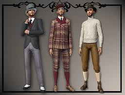 1800s hairstyles for sims 3 sims 3 updates downloads fashion clothing male youngadult