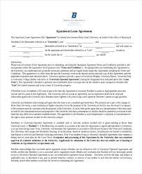 printable lease agreement form sample 10 free documents in doc