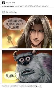 Sephiroth Meme - m mike kingdom hearts iii know your meme