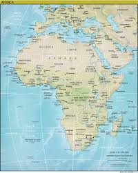 Map Of Africa Countries by Learn All African Countries And Territories In Arabic U2013 Part 1