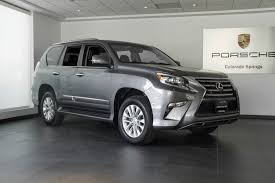 lexus used gx 460 2015 lexus gx 460 for sale in colorado springs co 17185a