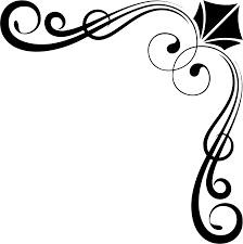 clipart corner ornament by rebeccaread