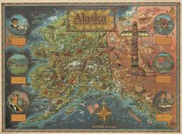 Maps Of Alaska by Vintage Maps Of Alaska U0026 Hawaii The Vintage Map Shop The