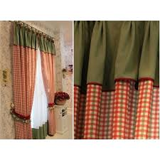 red tartan plaid drapes red black plaid curtains red buffalo check