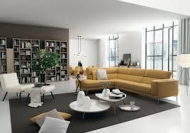idée canapé design interieur idée originale canapé angle design couleur jaune