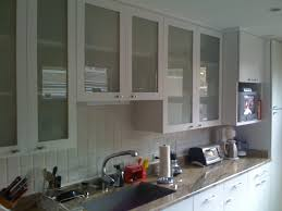 white kitchen cabinets with glass doors home design of glass